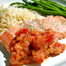 Salmon with Tomatoes