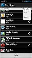 Screenshot of Recommend Apps (Share Apps)