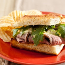 Cook the Book: Piedmontese Roast Beef with Pickled Ramp Aïoli