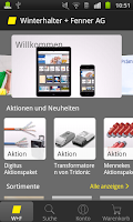 Screenshot of Winterhalter + Fenner AG