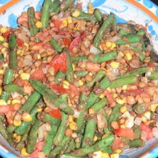 Lentil and Green Bean Salad