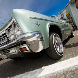 Drop Top Impala by Tye Patróns - Transportation Automobiles ( lowrider, switches, classic car, impala, automobile, low low )
