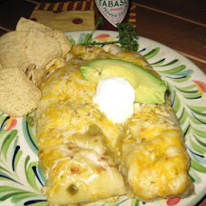 Famous Chicken Enchiladas