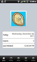 Screenshot of Fetal Kick Count