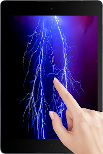 Electric screen live wallpaper - screenshot