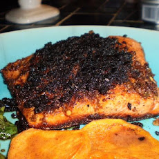 Blackened Indian Salmon