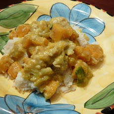 Thai Inspired Butternut Squash Curry
