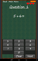 Screenshot of Math Me