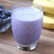 Banana Blueberry Chia Smoothie
