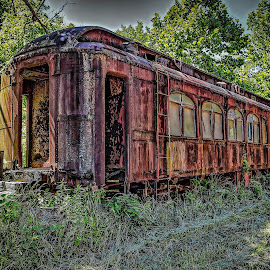 Abandoned by Ron Meyers - Transportation Trains