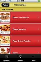 Screenshot of Pizza Capri
