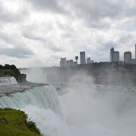 Niagara by Kallie Snyder - Nature Up Close Water ( niagara falls, waterfall, niagara, new york,  )