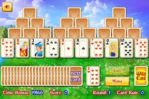 Screenshot of Magic Towers Solitaire