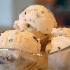 Homemade Mint Chocolate Chip Ice Cream