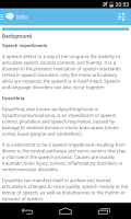 Screenshot of SpeechCompanion Speech Therapy