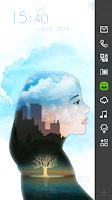 Screenshot of Secret Woman Live Locker Theme