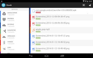 Screenshot of Cloudii