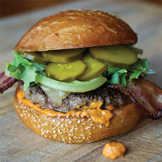 Bacon Manchego Cheese Burger