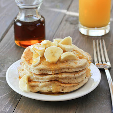 Heart-Healthy Super Fluffy Whole Grain Vegan Pancakes