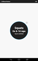 Screenshot of 15 Minute Workout Free