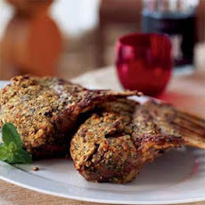 Pistachio-Encrusted Rack of Lamb