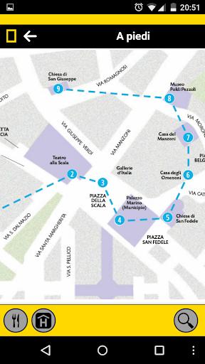 Milano Walking Guide - screenshot