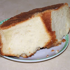 Pound Cake with Rum Topping