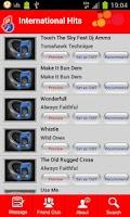 Screenshot of CallMe Tunes