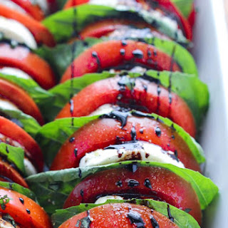 Fresh Mozzarella And Tomato Salad Balsamic Vinegar Recipes