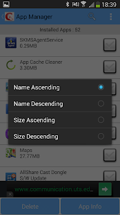 AppNCache Cleaner - screenshot