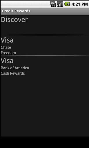 【免費財經App】Credit Rewards-APP點子