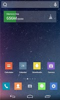 Screenshot of Maxthon-themed Launcher
