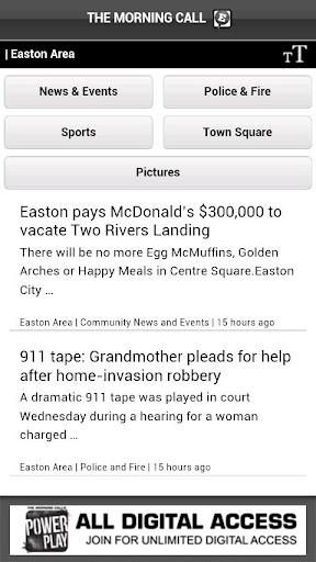 Easton Area PA news