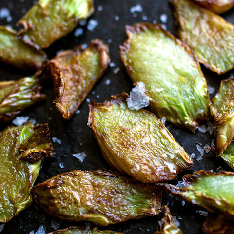 Pan-Fried Broccoli Stems
