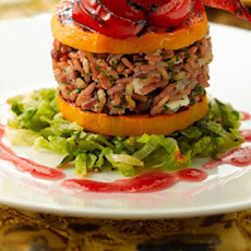Sin-free Squash And Pepper Stacks