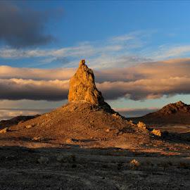 Trona Pinnacles at Sunrise by Dub Scroggin - Landscapes Deserts ( mojave desert, trona pinnacles, california, pinnacles, trona )