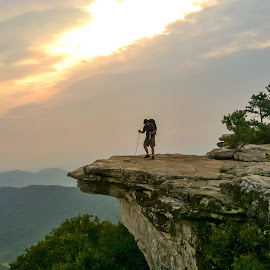 McAfee's Knob by Carol Plummer - Instagram & Mobile iPhone ( at, hiking )