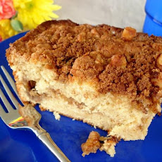 Harry's Coffee Break Cinnamon Cake