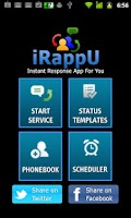 Screenshot of iRappU (Instant Response)