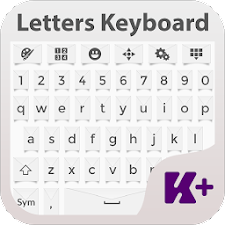 Letters Keyboard Theme