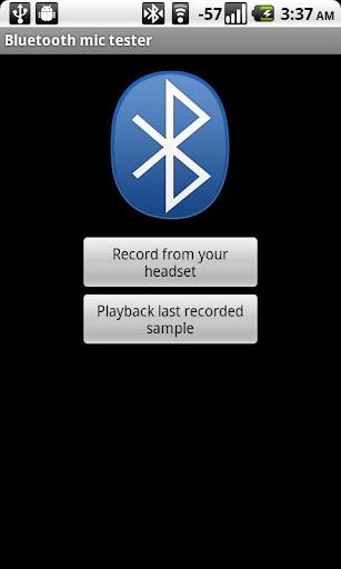 Bluetooth mic test donate