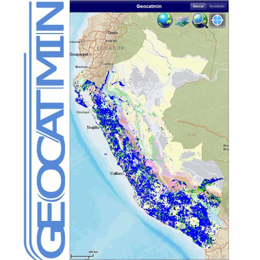GEOCATMIN - INGEMMET - PERU