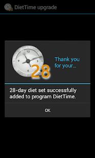 DietTime 28-day Diet Set - screenshot