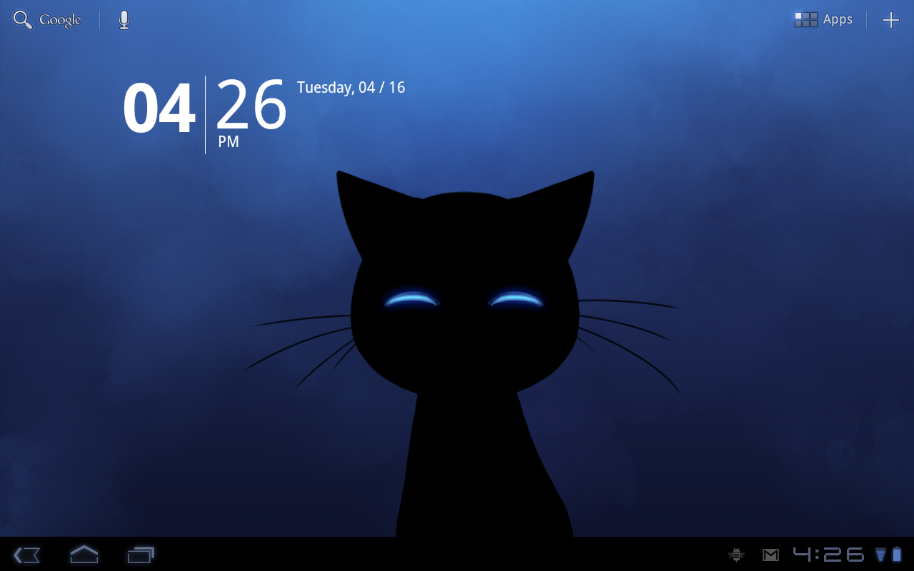 Stalker Cat Live Wallpaper Lt Screenshot 9