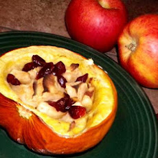 Squash With Apples & Cranberries