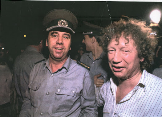 On October 3, 1990, the day Germany was reunified, I had a drink at Checkpoint Charlie with a border guard I had known for 10 years. He smiled and for the first time told me his name was Uwe. He was now unemployed.