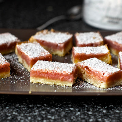 Pink Lemonade Bars