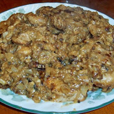 Guinness Pork Chops in Gravy