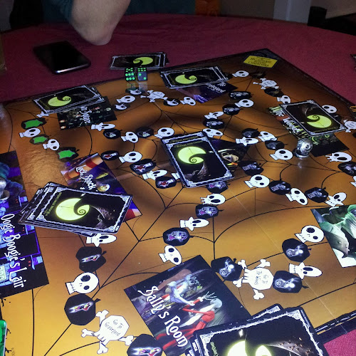 justin rated nightmare before christmas board game a b jotly - Nightmare Before Christmas Board Game