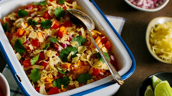 Fiesta Lime Chicken & Rice Bowl Recipe | Yummly